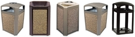 Rubbermaid Landmark Series Classic Containers & Aggregate Panels