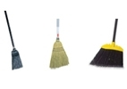 Rubbermaid Lobby Brooms - Synthetic - Polypropylene - 100% Corn Fill