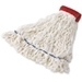 Rubbermaid Clean Room Maintenance Mops with Looped-Ends and Tailband
