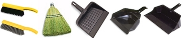 Rubbermaid Counter Brushes - Whisk Brooms - Heavy-Duty Dust Pans