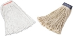 Rubbermaid Premium Cut-End Cotton Wet Mops with Narrow and Wide Headbands
