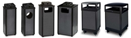 Rubbermaid / United Receptacle Dimension 500 Series Trash Cans & Weather Urns