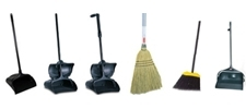Lobby Dust Pans / Brooms