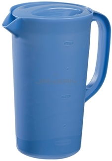 Rubbermaid 3062rd Economy Pitcher With Blue Lid 2 1 4