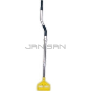"Rubbermaid H124 User-Friendly Mop Handle with Side Gate Head - 54""-66\"" Adjustable Length"