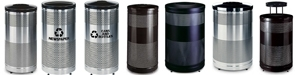 Rubbermaid / United Receptacle Howard Classic Waste Receptacles, Trash Containers & Garbage Cans