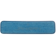 "Rubbermaid Q411 24"" Microfiber Wet Room Pad"