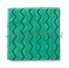 Rubbermaid Q620 HYGEN Microfiber General Purpose Cloth (Green or Red)