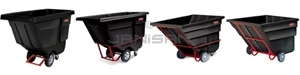 Rotomolded Tilt Trucks