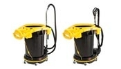Rubbermaid DVAC Vacuums with Power Nozzle or Straight Suction