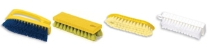 Rubbermaid Scrub Brushes - Natural - Synthetic - Plastic