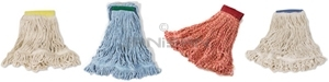 Rubbermaid Super Stitch Blend Looped End Wet Mops with Tailband