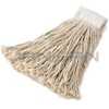 "Rubbermaid V156 Economy Cotton Mop - #16 Mop Size - 5"" White Headband - White in Color"