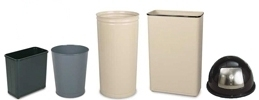 Wastebaskets and Covers