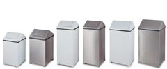 WasteMaster Swing Top Garbage Cans, Waste Receptacles & Trash Containers