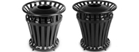 Rubbermaid WeatherGard Series Garbage Cans, Waste Receptacles & Trash Containers