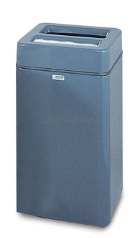 "FG1630SQSUT Two Piece Model - 32 Gallon Capacity - 16"" Sq. x 30\"" H - Disposal Opening is 11.5\"" L x 5.5\"" W"